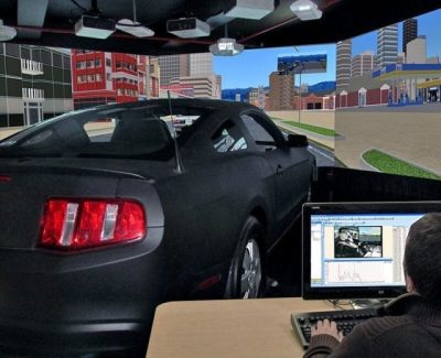 Driving Simulator Lab | Connecticut Transportation Safety Research